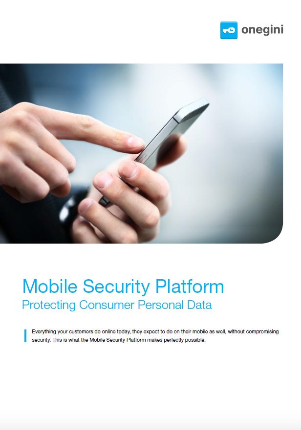 Brochure - Onegini Mobile Security Platform