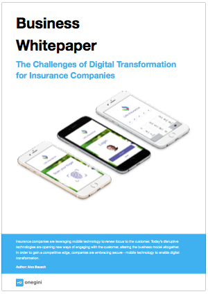 Business Whitepaper - Digital Transformation Insurance Companies