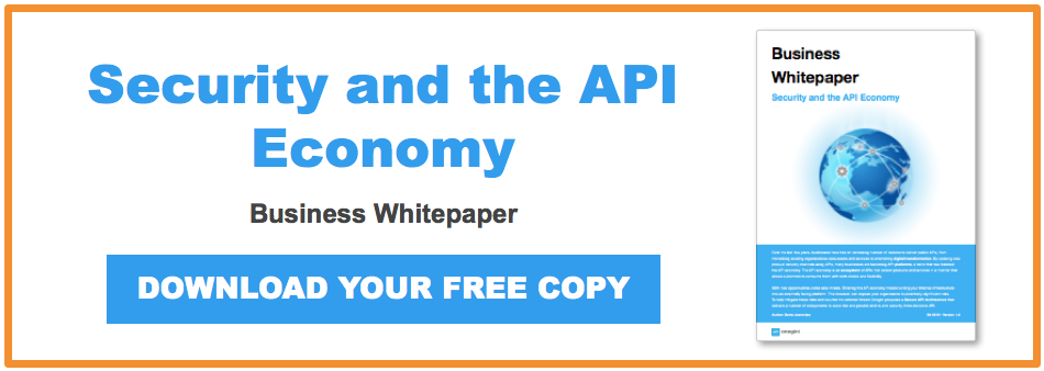 Security and the API Economy business whitepaper CTA