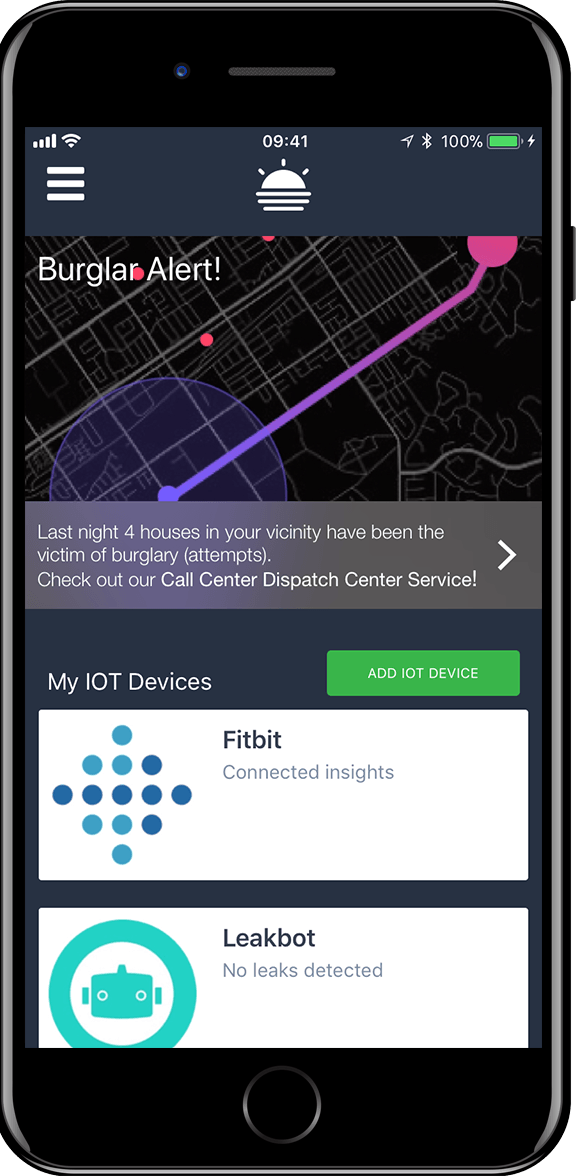 Innobank-IoT-Mobile screenshot