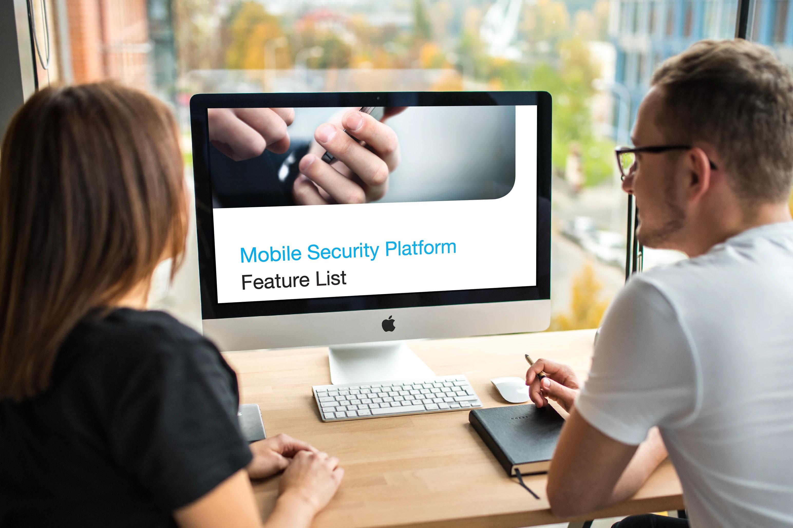 MSP Feature list mockup
