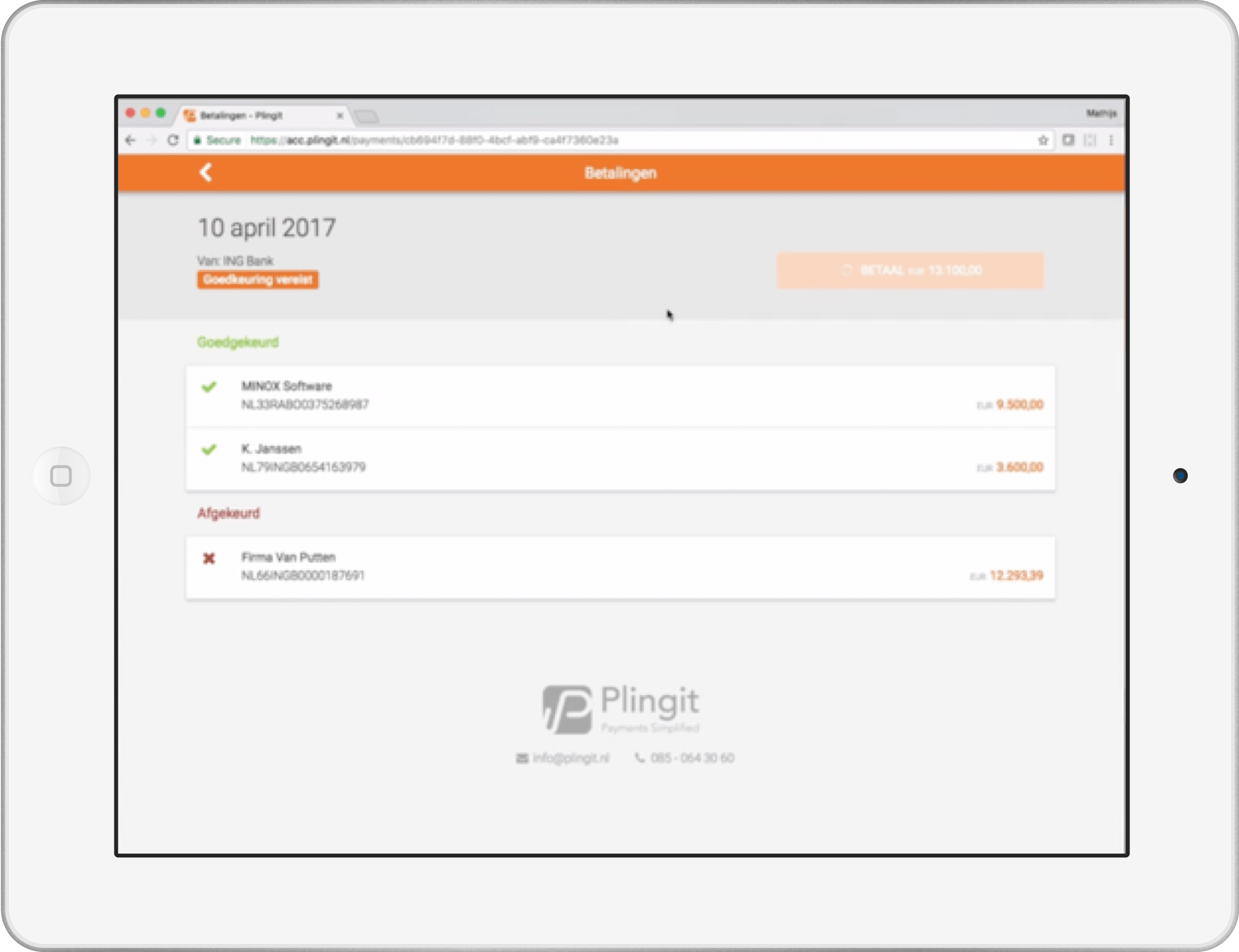 homepage-tablet screenshot