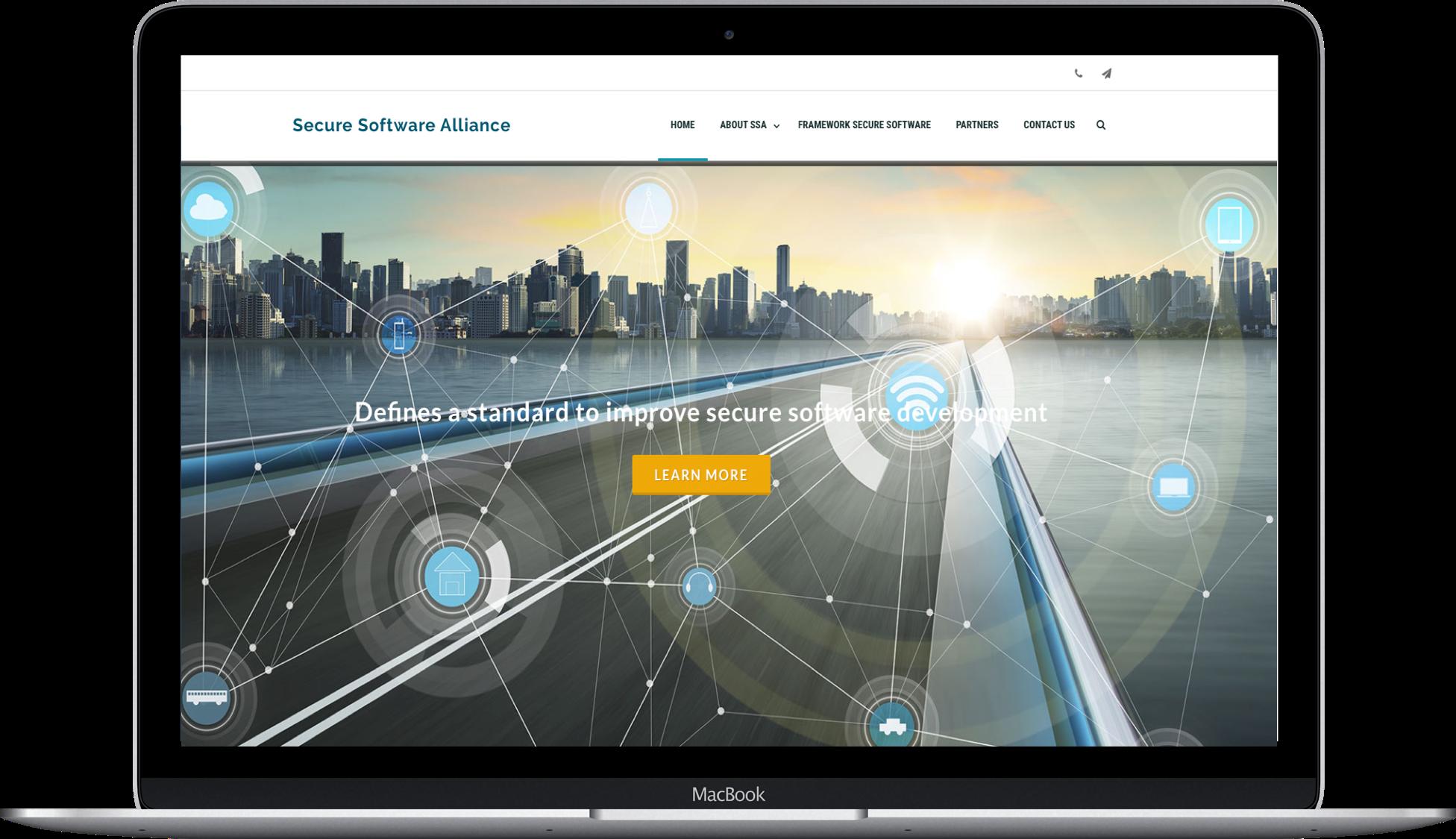 onegini secure software screenshot